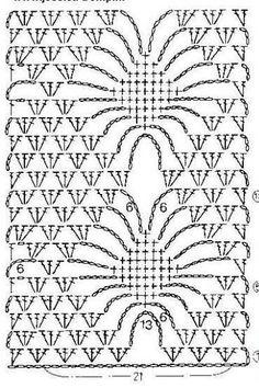 Beautiful crochet bolero with crystal beads Free crochet pattern … Crochet pattern … More … Crochet Bolero Pattern, Crochet Diagram, Crochet Stitches Patterns, Crochet Chart, Crochet Motif, Crochet Designs, Crochet Doilies, Stitch Patterns, Crochet Shrugs