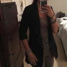 Boyfriend blazer- super stylish Intel worn a few times  - fitted and touched sleeves. Gives awesome shape! BB Dakota Jackets & Coats Blazers