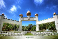 Lake Shrine Temple Pacific Palisades Wedding | Tony & Shalini
