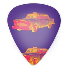 Rock out with Modern guitar picks & more guitar accessories from Zazzle. Guitar Accessories, Guitar Picks, Phone Covers, Porsche Logo, Taxi, Pop Art, Antique Cars, Fine Art Prints, Cards