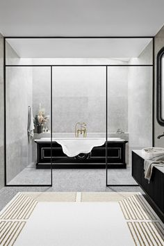 Bathrooms are the most common space in a home, thus it has to be functional for a different range of people every single day.   Ample storage is essential as well as organisation systems, so when doing the early morning routing, everything we need is at an easy reach. Bathroom furniture is typically a mirror, cabinet and towel racks, however, to give more personality, we can add colour tiles and wallpaper.