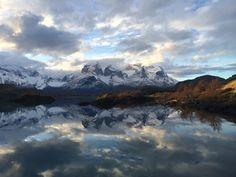 Lago Pehoe w Magallanes y de la Antártica Chilena