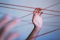 """How Sensitive Are These Threads You Hang From?"" by chrisv_photo on Flickr."