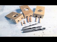 Jig for dowels DIY / Conductor for DIY dowels