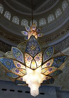 Zayed mosque interiors 3 by ~amirajuli on deviantART
