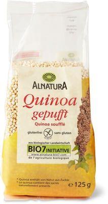 Alnatura Quinoa gepufft Gluten, Packing, Food, Almonds, Bag Packaging, Essen, Meals, Yemek, Eten