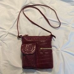 Red purse Never used Bags Crossbody Bags