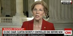 Warren thinks the 2016 Democratic-primary process between Clinton and Sanders was rigged, she told CNN's Jake Tapper on Thursday.