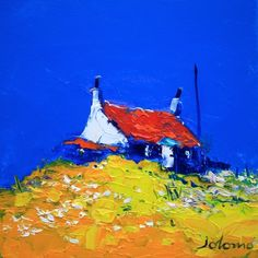 Red Roof, Isle of Colonsay by Jolomo - John Lowrie Morrison