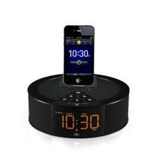 Este reloj despertador se puede personalizar y conectar y cargar dispositivos iPod, iPhone e iPad. Cuenta con pantalla LED y radio  FM. Además, aprovecha los últimos días con envío gratis en todos los productos. Sólo por $990