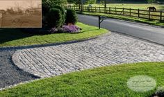 Cobble Stone Driveway Design in New York | Flickr - Photo Sharing!