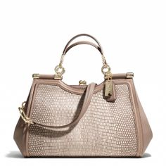 Coach :: MADISON PINNACLE CARRIE IN LIZARD EMBOSSED LEATHER