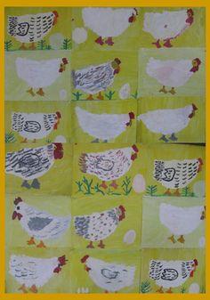 De kip en het ei Hierover zijn veel (prenten)boeken te vinden! Kunstunterricht 2015 / 2016 - Schule Am Lindenberg