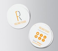 27 best circle business cards images on pinterest carte de visite are you wanting to spice up your creativity in a fun and unique way then look no further our circle business cards might be just what you need to get the wajeb