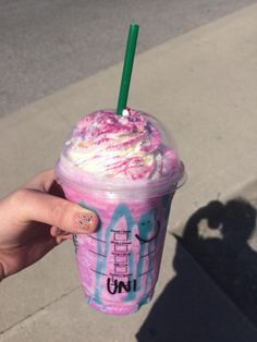 The Unicorn Frapp is real! #starbucks #coffee #love #frappuccino #latte #tea #yummy #gift