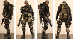 My first Kitbash - Modern Warfare (beware 16 images) - OSW: One Sixth Warrior Forum