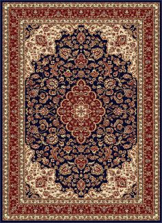 Clarence Oriental Red Area Rug – Area Rugs in living room