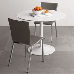 odyssey white dining table in dining tables | CB2
