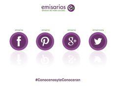 Gestionamos en todas las #RedesSociales... Consultanos! #Emisarios, #CommunityManager & #DiseñoGrafico.