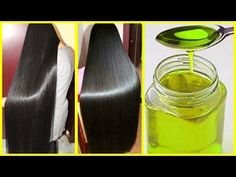 Homemade Oil To Stop Hair Fall & Hair Loss - Grow Extremely Long Hair & Thicker Hair Hair Remedies For Growth, Hair Growth Treatment, Stop Hair Loss, Prevent Hair Loss, Grow Long Hair, Grow Hair, Thicken Hair Naturally, Fall Hair, Thicker Hair