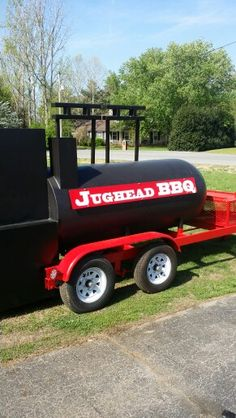 TS-500 Reverse Flow smoker with insulated firebox and insulated warming tower. #bbq #topshot #smoker