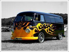 VW Bus Bristol Volksfest - edit by MG/8, via Flickr