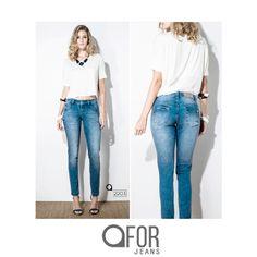 O básico sempre cai bem num guarda-roupa da mulher que prefere qualidade e conforto. Coleção Verão 2017 da FOR JEANS. Jeans para todos os lugares.