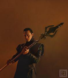 Feeling good by ~Blakravell on deviantART (Loki Laufeyson, Tom Hiddleston, Avengers Fanart)