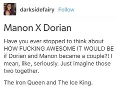 OKAY I WOULD REALLY LOVE IF MORE PEOPLE WOULD BOARD MY MANON DORIAN SHIP