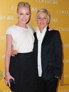 Portia de Rossi Recalls Meeting Ellen DeGeneres on CBS Sunday Morning (Video)