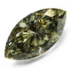 1.54ct. Marquise Fancy Gray Yellowish Green (Chameleon) Diamond