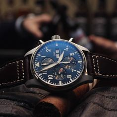 """« ⌚✈ The IWC Pilot's Watch Chronograph Edition """"Le Petit Prince"""" 