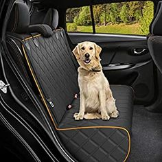 Amazon.com: DakPets Dog Car Seat Covers - Pet Car Seat Cover Protector – Waterproof, Scratch Proof, Heavy Duty and Nonslip Pet Bench Seat Cover - Middle Seat Belt Capable for Cars, Trucks and SUVs: Automotive Dog Cover For Car, Best Car Seat Covers, Car Seat Protector, Pet Dogs, Pets, Dog Car Seats, Pet Safe, Bench Seat, Car Accessories