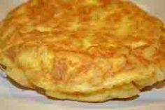 Receta de Tortilla- Comida cubana