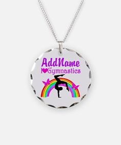 SUPER STAR GYMNAST NecklaceCalling all Gymnasts! Thrill your Gymnast with our awesome personalized Gymnastics jewelry. Take 20% Off your order with code: BAE20 http://www.cafepress.com/sportsstar/10114301 #Gymnastics #Gymnast #WomensGymnastics #Lovegymnastics #Personalizedgymnast #GymnastJewelry