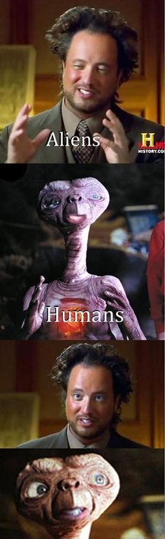 who's the alien?