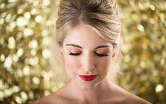 Sparkle Beauty  Styling- Beth Chapman | The White Dress by the shore  Photo- Justin & Mary  Beauty- Jennie Fresa