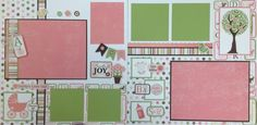 Mom and Me Scrapbooking: Page Kits for National Scrapbook Day