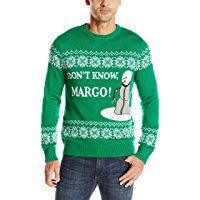 Alex Stevens Men's I Don't Know Margo Ugly Christmas Sweater