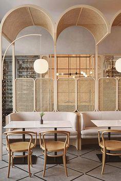 Decoration Restaurant, Design Bar Restaurant, Deco Restaurant, Restaurant Poster, Pub Decor, Restaurant Website, Modern Restaurant, Restaurant Ideas, Menue Design