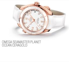 2012 Omega balances the line between materials and movements better than any other brand. The Seamaster's 42-millimeter rose gold case features a white ceramic bezel complete with a diving scale made of proprietary Ceragold. The manufacture movement uses a silicon balance spring, and the rose gold balance wheel is visible through the sapphire caseback.
