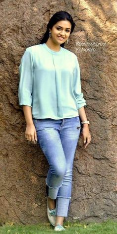 Keerthi Suresh looks ultra sexier in these outfits Beautiful Girl Indian, Most Beautiful Indian Actress, Beautiful Bollywood Actress, Beautiful Actresses, South Indian Actress Photo, Bollywood Photos, Girl Photo Poses, Beauty Full Girl, Indian Girls