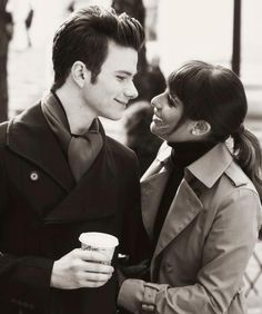 "kurt & rachel (glee) Amazing photo of ""Kurt."""