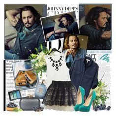"""Johnny Depp..........................!"" by melissaklaine ❤ liked on Polyvore"