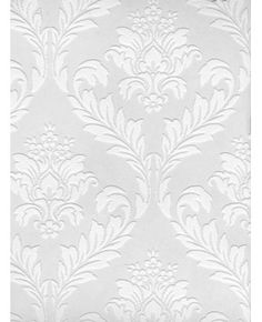 Medium Damask paintable wallpaper $30 a roll / Extra option paintable wallpaper