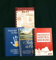 It's easy to make PTA or PTO cookbooks unique to capture the spirit of your school.