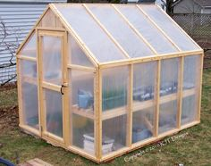 x Greenhouse Plans - PDF Version - Garten - Plantio Simple Greenhouse, Build A Greenhouse, Greenhouse Gardening, Greenhouse Ideas, Greenhouse Wedding, Indoor Greenhouse, Greenhouse Frame, Homemade Greenhouse, Portable Greenhouse