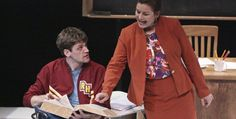 Student, teacher match wits in 'Sex and Education'
