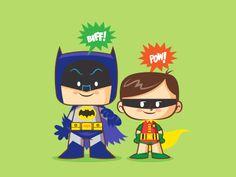Dribbble batman and robin 66 salvatier