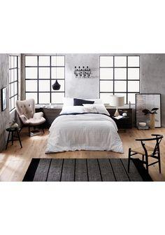 Sheridan Beldon K Quilt Cover Set - White - Home Restock - Onceit